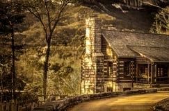 Edificio civil del cuerpo de la protección de la roca de la tabla Fotografía de archivo libre de regalías