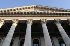 Edificio clásico del estilo fotografía de archivo
