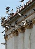 Edificio classico de Atene Immagini Stock