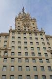 Edificio classico di Madrid Fotografia Stock