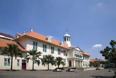 Edificio colonial holandés 1 Imagenes de archivo