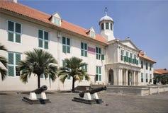 Edificio colonial holandés 2 fotos de archivo