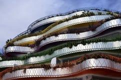 Edificio coloreado Fotos de archivo libres de regalías