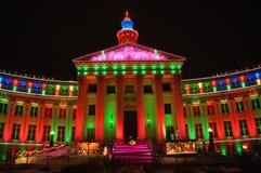 Edificio colorido 1 Fotos de archivo