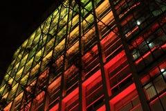 Edificio colorido Imagen de archivo