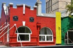 Edificio colorido Imágenes de archivo libres de regalías