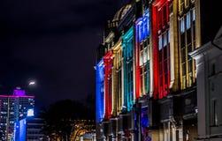 Edificio colorido Foto de archivo libre de regalías