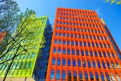 Edificio colorido en Londres, Inglaterra, Reino Unido Imagen de archivo libre de regalías