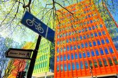 Edificio colorido en Londres, Inglaterra, Reino Unido Fotografía de archivo