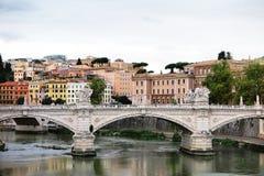 Edificio colorido en Roma, Italia Fotos de archivo libres de regalías