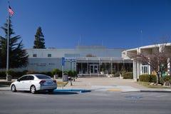 Edificio Columned foto de archivo