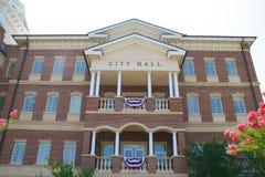 Edificio Columned imagen de archivo