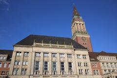 Edificio Columned kiel Fotos de archivo libres de regalías