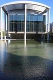 Edificio Columned reykjavik Imagenes de archivo