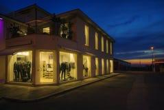 Edificio comercial Imagenes de archivo