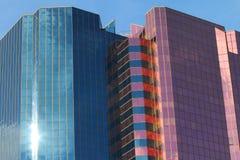 Edificio comercial Imagen de archivo libre de regalías