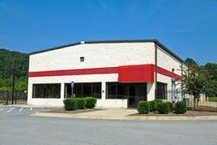 Edificio comercial disponible Imágenes de archivo libres de regalías