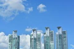 Edificio comercial en Asoke Civilización centrada en Bangkok Fotos de archivo libres de regalías