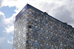 Edificio comercial en Suecia Fotos de archivo libres de regalías