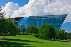 Edificio comercial moderno Fotografía de archivo libre de regalías