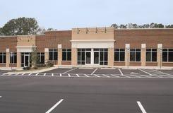 Edificio comercial vacío Foto de archivo libre de regalías