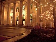 Edificio con los pilares Fotos de archivo libres de regalías