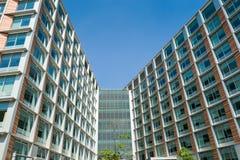 Edificio in condominio Fotografie Stock Libere da Diritti