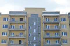 Edificio in condominio immagini stock