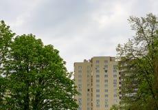 Edificio in condominio Fotografia Stock
