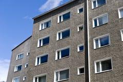 Edificio in condominio della città Immagine Stock Libera da Diritti