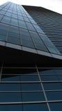 Edificio corporativo azul Imagen de archivo libre de regalías