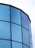 Edificio corporativo azul Imagenes de archivo
