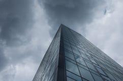 Edificio corporativo masivo Fotografía de archivo