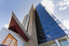 Edificio corporativo moderno Imagenes de archivo