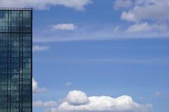 Edificio corporativo moderno Foto de archivo libre de regalías