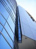 Edificio corporativo moderno del asunto de una institución financiera Foto de archivo libre de regalías