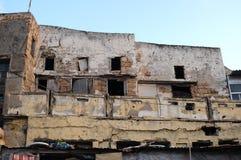 Edificio dañado Fotos de archivo libres de regalías