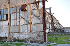 Edificio dañado Imagen de archivo