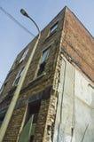 Edificio de Abandonned Fotos de archivo libres de regalías