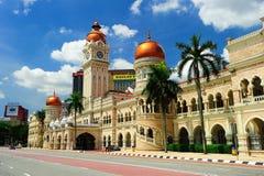 Edificio de Abdul Samad del sultán Imagen de archivo libre de regalías