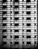 Edificio de acero decaído foto de archivo libre de regalías