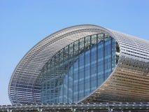 Edificio de acero moderno Imágenes de archivo libres de regalías