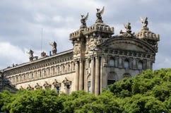 Edificio de Aduana en Barcelona Fotografía de archivo libre de regalías