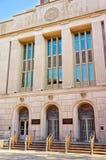 Edificio de aduanas de Estados Unidos en calle de la castaña en Philad Imágenes de archivo libres de regalías