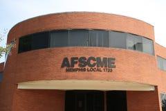 Edificio 1733 de AFSCME Memphis Local Imágenes de archivo libres de regalías