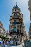 Edificio de Aldriatica del La en Sevilla España Imágenes de archivo libres de regalías
