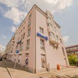 Edificio de Allianz Fotos de archivo libres de regalías