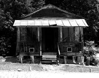 Edificio de almacén viejo fotografía de archivo libre de regalías