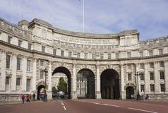 Edificio de almirante Arch en Londres Imagen de archivo