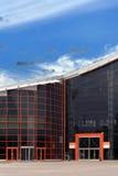 Edificio de alta tecnología del estilo Foto de archivo libre de regalías
